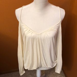 Amazing Free People cold shoulder top